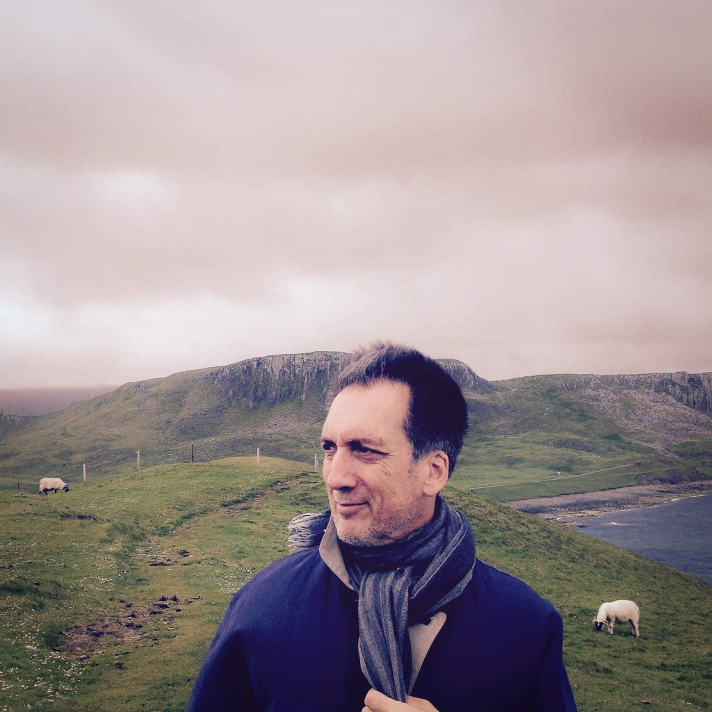photograph of richard pelletier in the scottish highlands